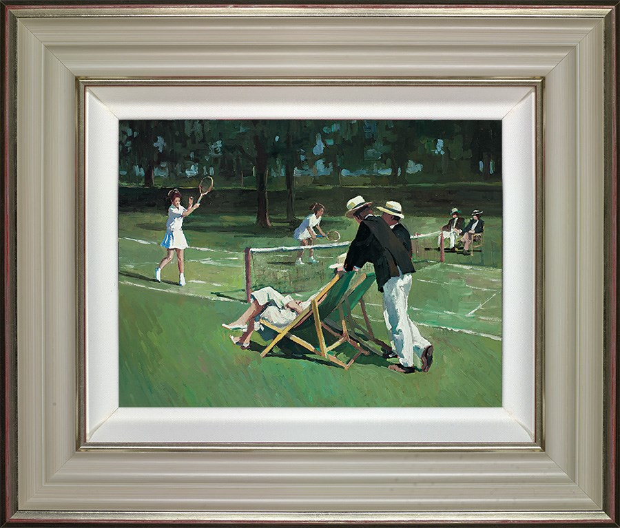 Perfect Match  by Sherree Valentine Daines - Hand Finished Limited Edition on Canvas sized 14x11 inches. Available from Whitewall Galleries